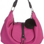 Purple Hobo Handbag